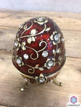 Russian egg red gold