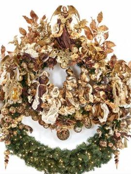 Goodwill Großer Weihnachtskranz Religious