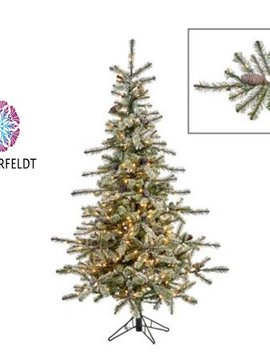 Goodwill Artificial tree flocked