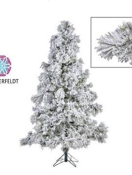 Goodwill Flocked Christmas tree