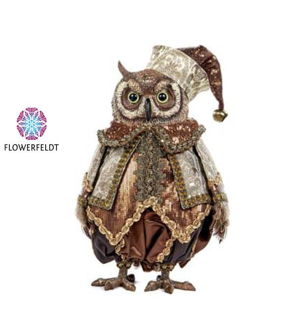 Goodwill Uil poppen - H38 cm