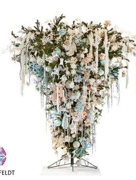 Goodwill Wand Weihnachtsbaum ice carousel
