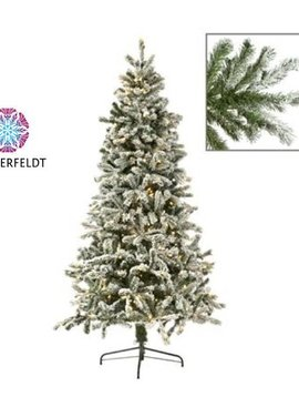 Goodwill Besneeuwde kunst kerstboom