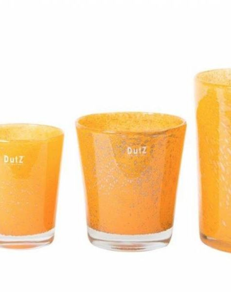 DutZ Vazen conic mandarine