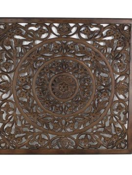 Wall plaque brown