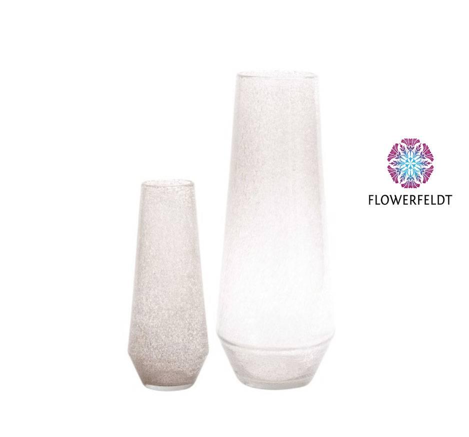 DutZ Vase Nita clear bubbles - H46/ H64 cm