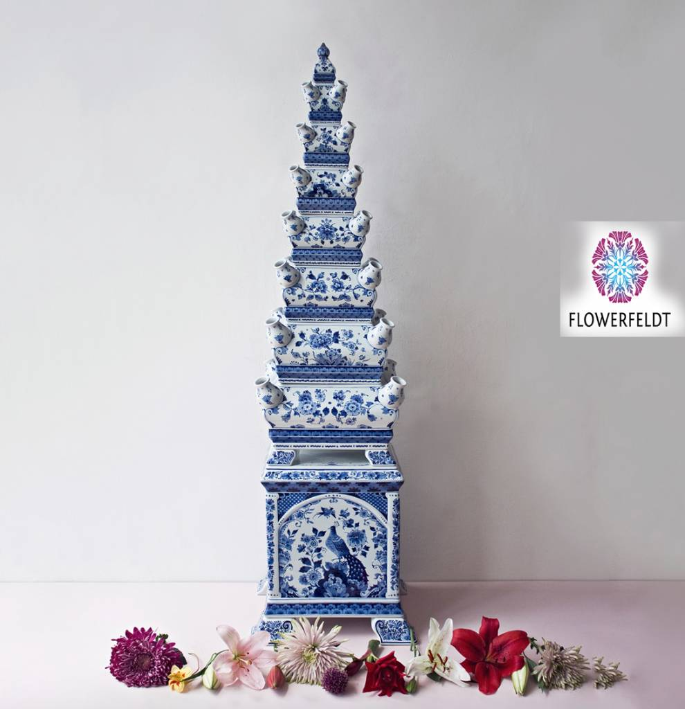Tulpenvaas piramide - H120 cm