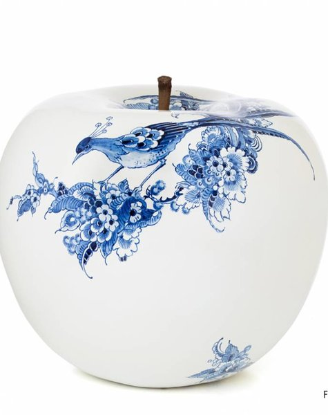 Apple sculpture - D43 cm