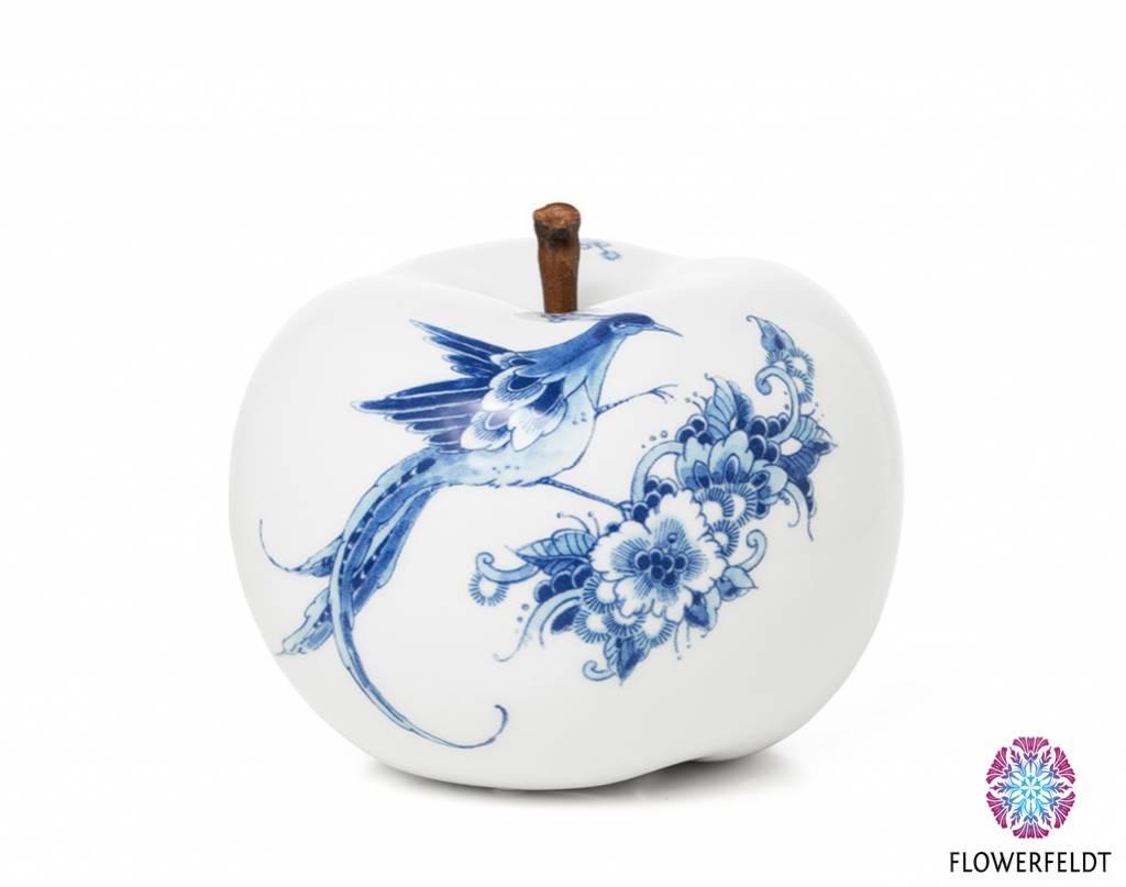 Porzellan Apfel Weiß - D20 cm