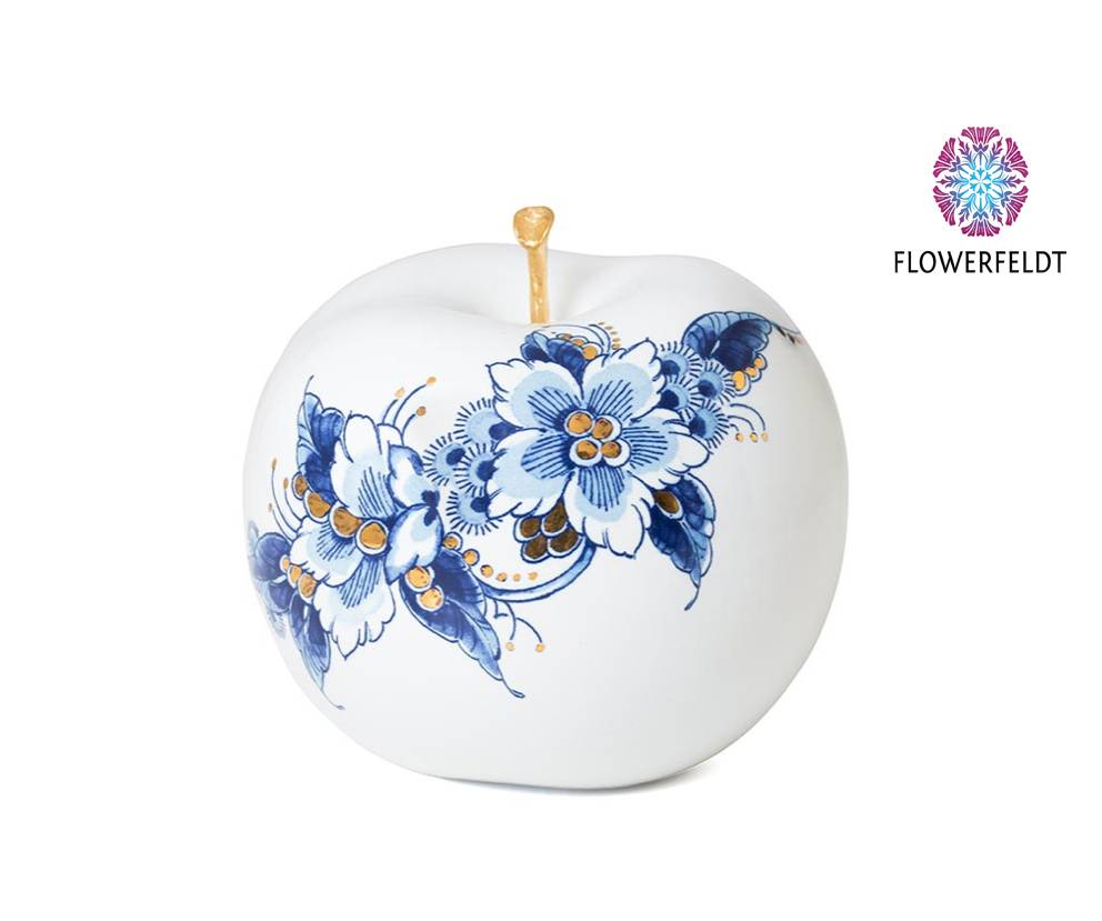 Decoration apple gold - D12 cm