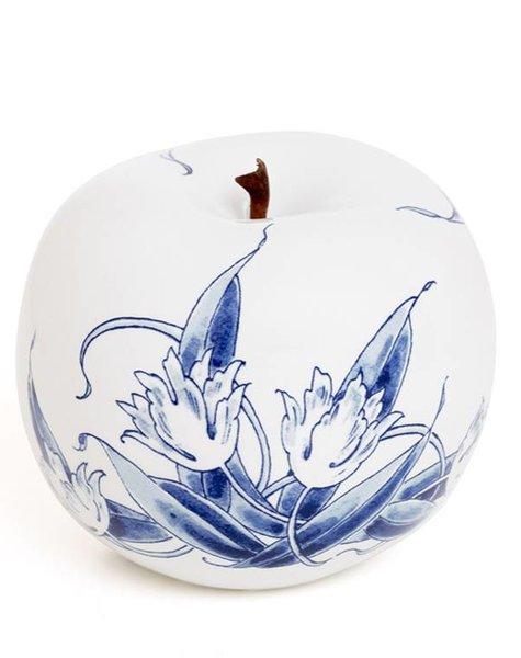Apple porcelain - D12 cm