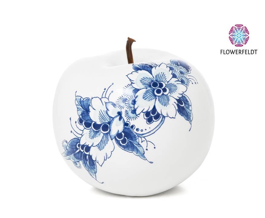 Porselein appel - D12 cm