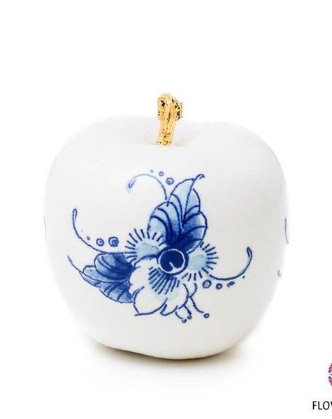 Apple delft blue - D6 cm