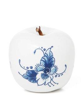 Deko Apfel Delfter Blau