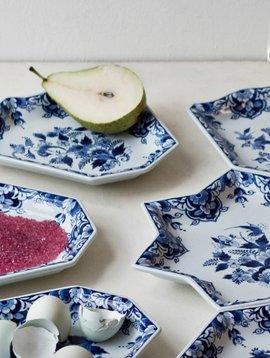 Dish set delft blue