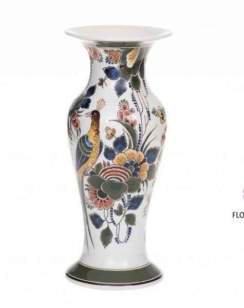 Bird vase porcelain - H 24,5 cm