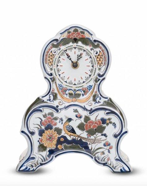 Porcelain clock - H 23,0 cm