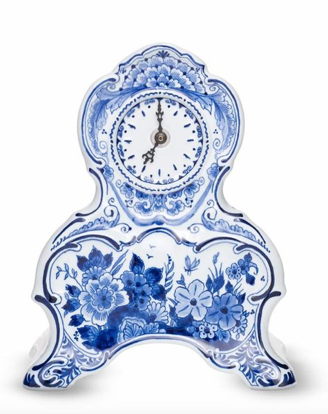 Delft blue clock - H 23,0 cm