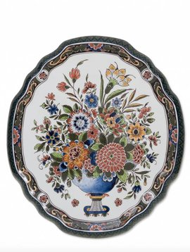 Wall plate Flower mania