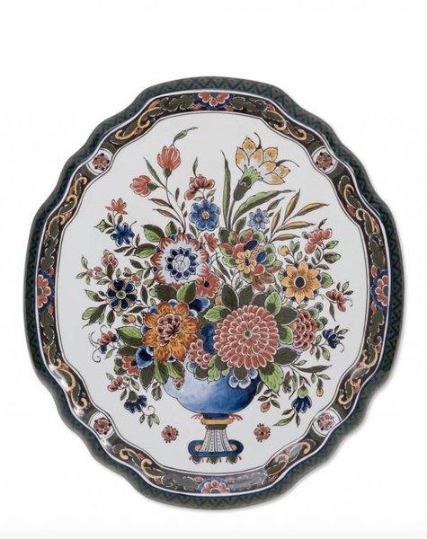 Wall plate Flower mania - 36x40 cm