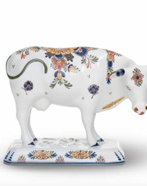 Cow figure porcelain - H 15,5 cm
