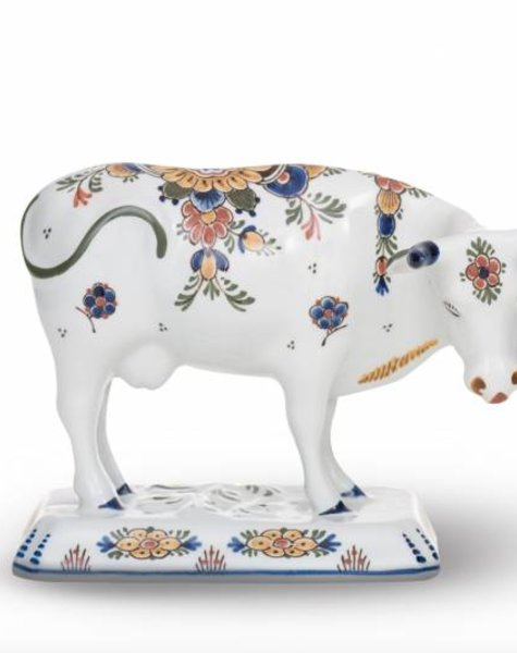 Koe beeld porselein - H 15,5 cm