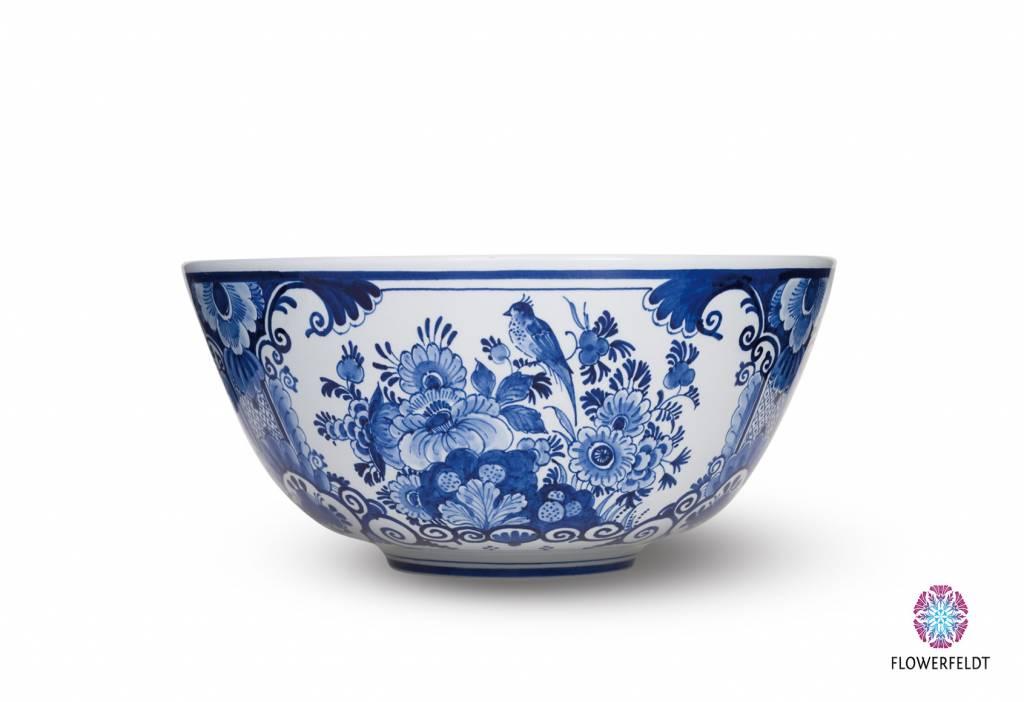 Delft blue bowl - D30 cm