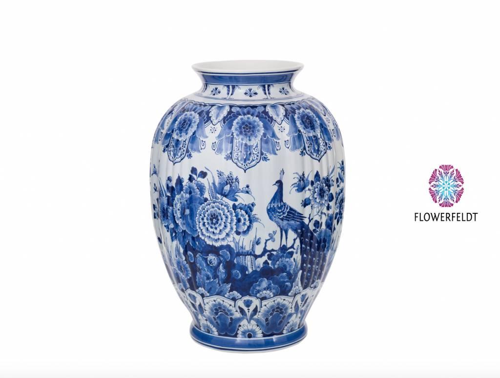Large vase delft blue - H 47,5 cm