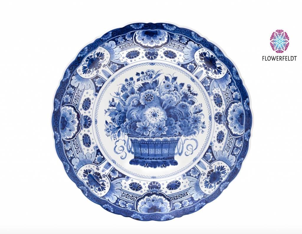 Bord delftsblauw - D53 cm