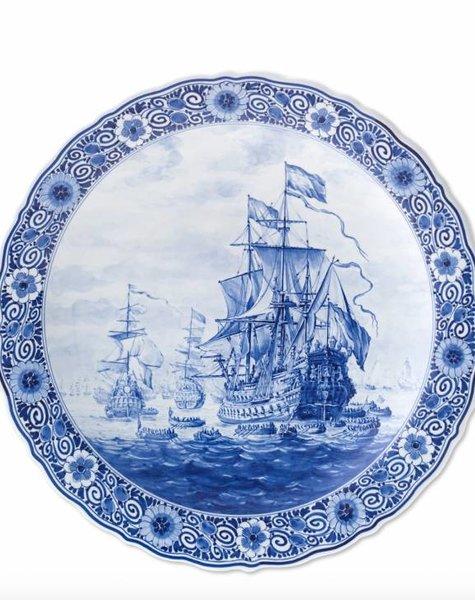 Sailing ship plate - D 40 cm