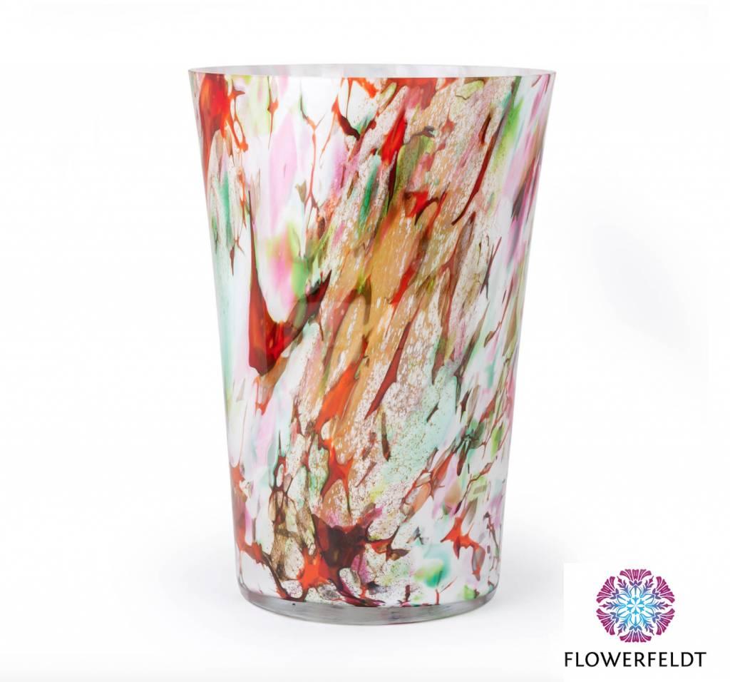 Fidrio Vase Conic Mixed Colors