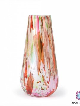 Fidrio Vase Gloriosa Mixed Colors