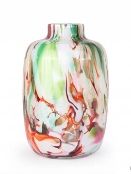 Fidrio Vase Toronto Large Mixed Colors