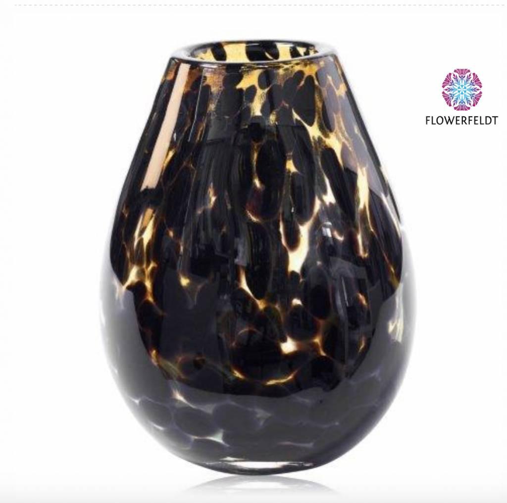 Fidrio Vase Leppard organic  XL - H40 cm