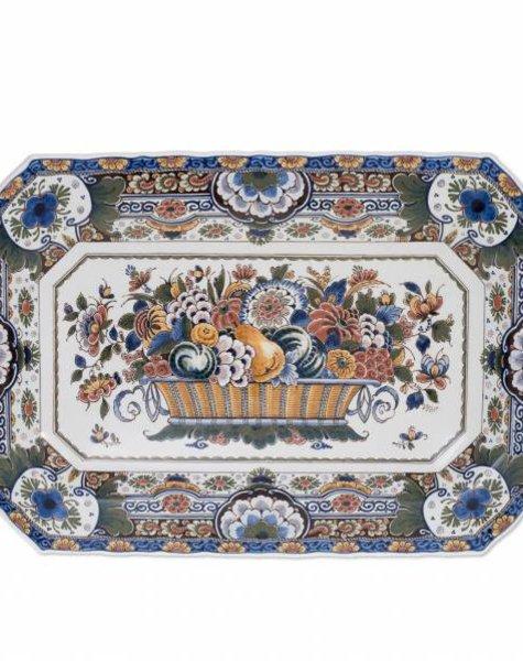 Rectangular wall plate - 57 x 37 cm
