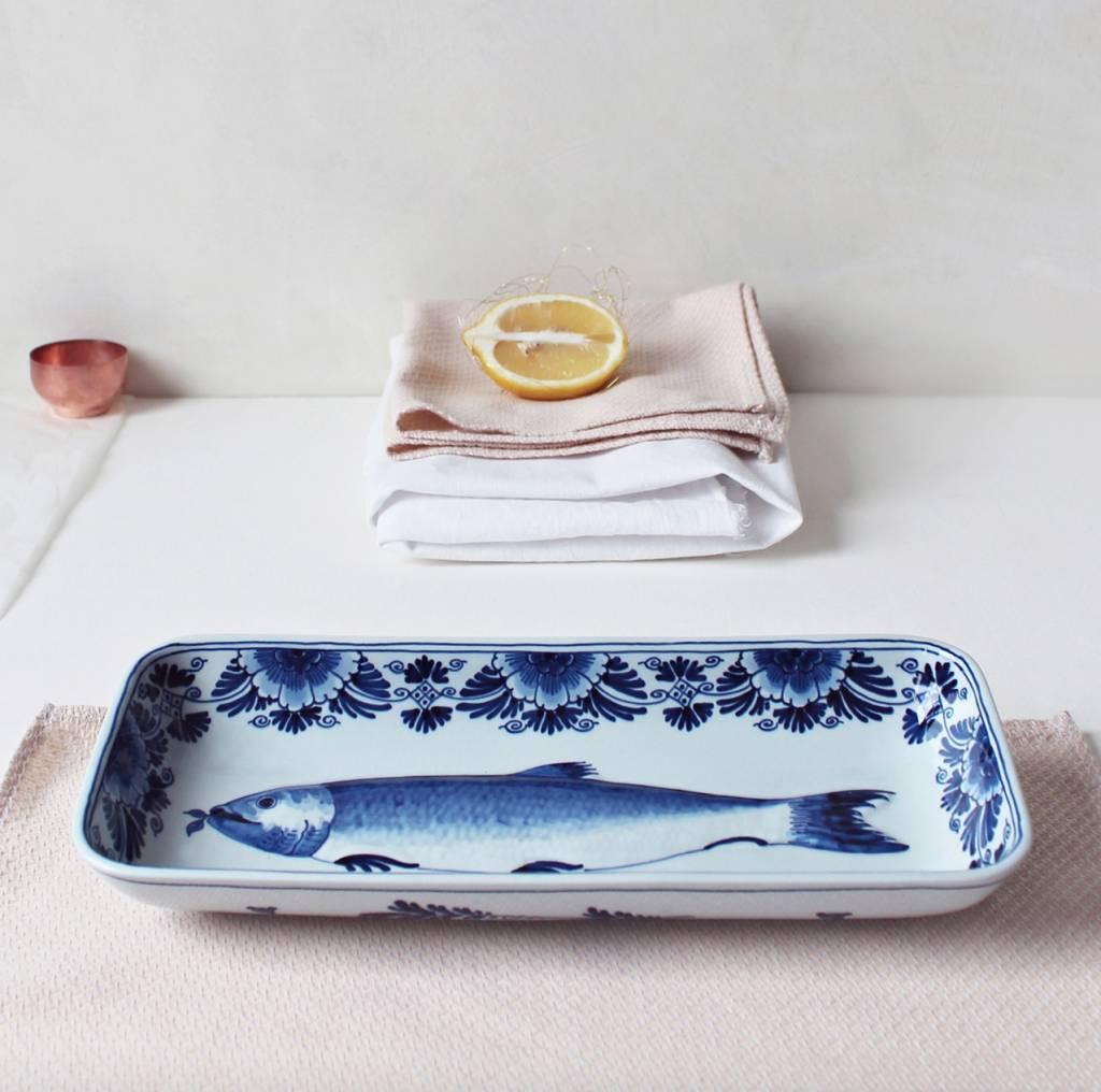Porcelain fish plate - 29x12,5 cm
