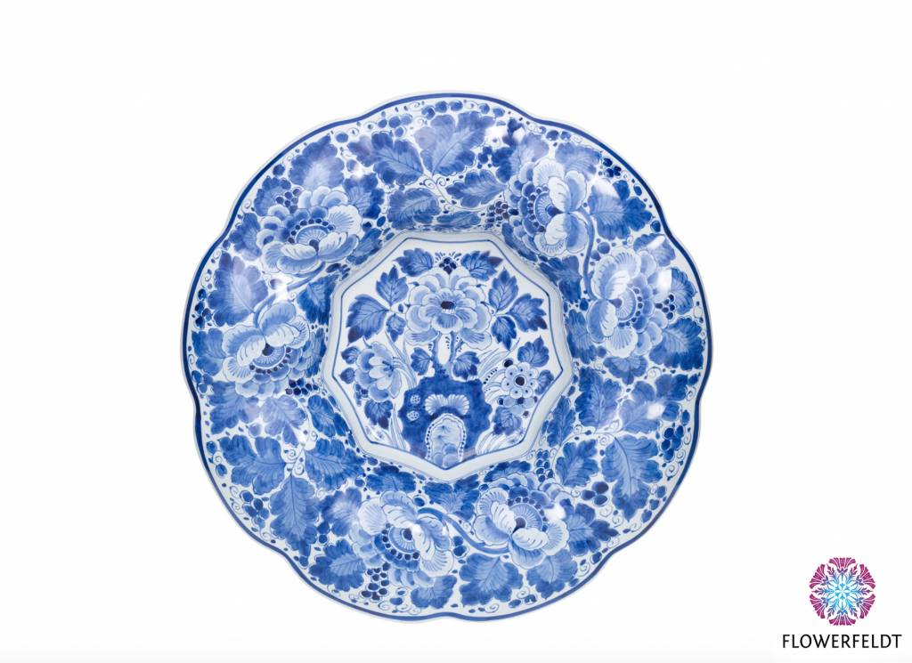 Delft Blue plate - D36 cm