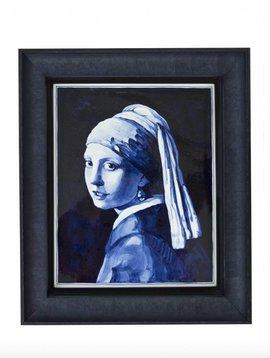 Tilepainting Vermeer