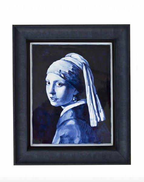 Tilepainting Vermeer - 24x29 cm