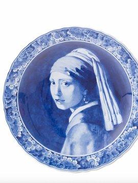 Delft blue plate Vermeer