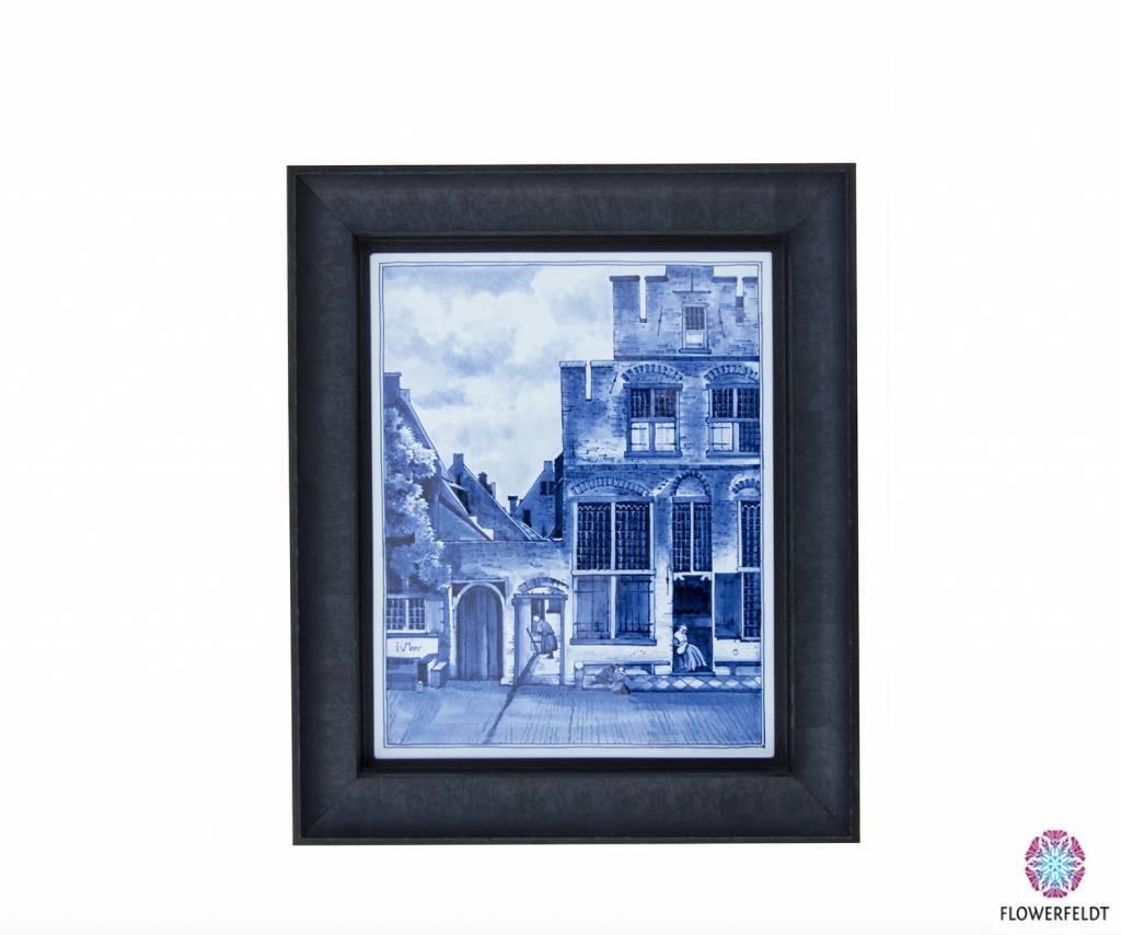 Tile painting Vermeer - 24x29 cm
