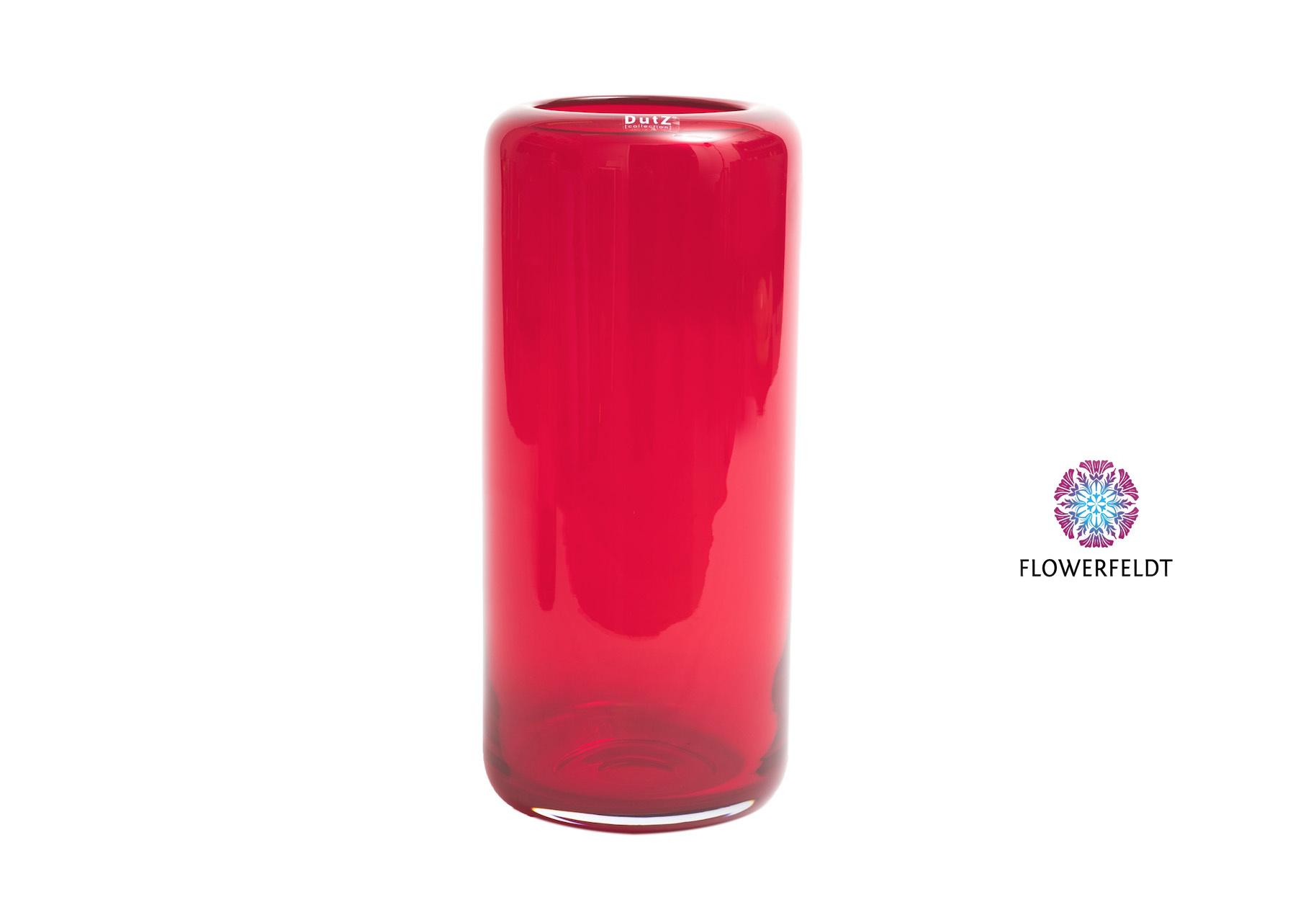 DutZ Vase Mazurka red XL - H 40 cm