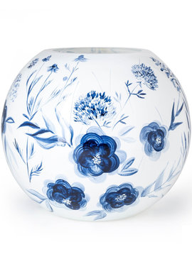Fidrio Kugelvase Dutch Blue