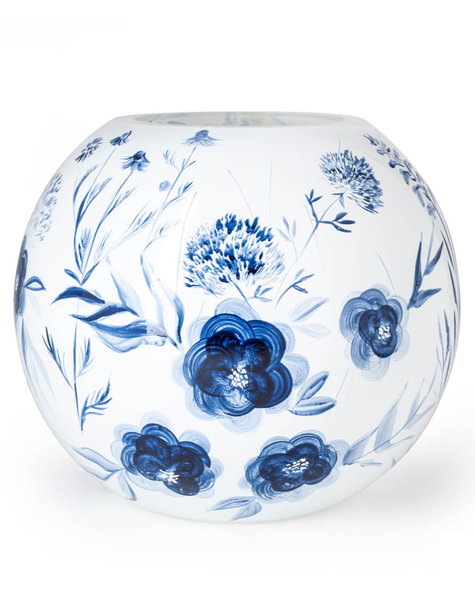 Fidrio Kugelvase Dutch Blue - D25 cm