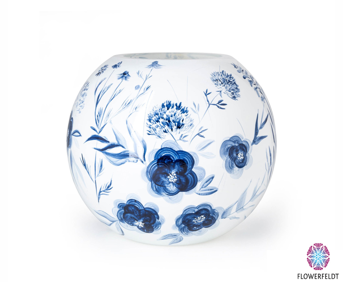Fidrio Bolvase Dutch Blue - D25 cm