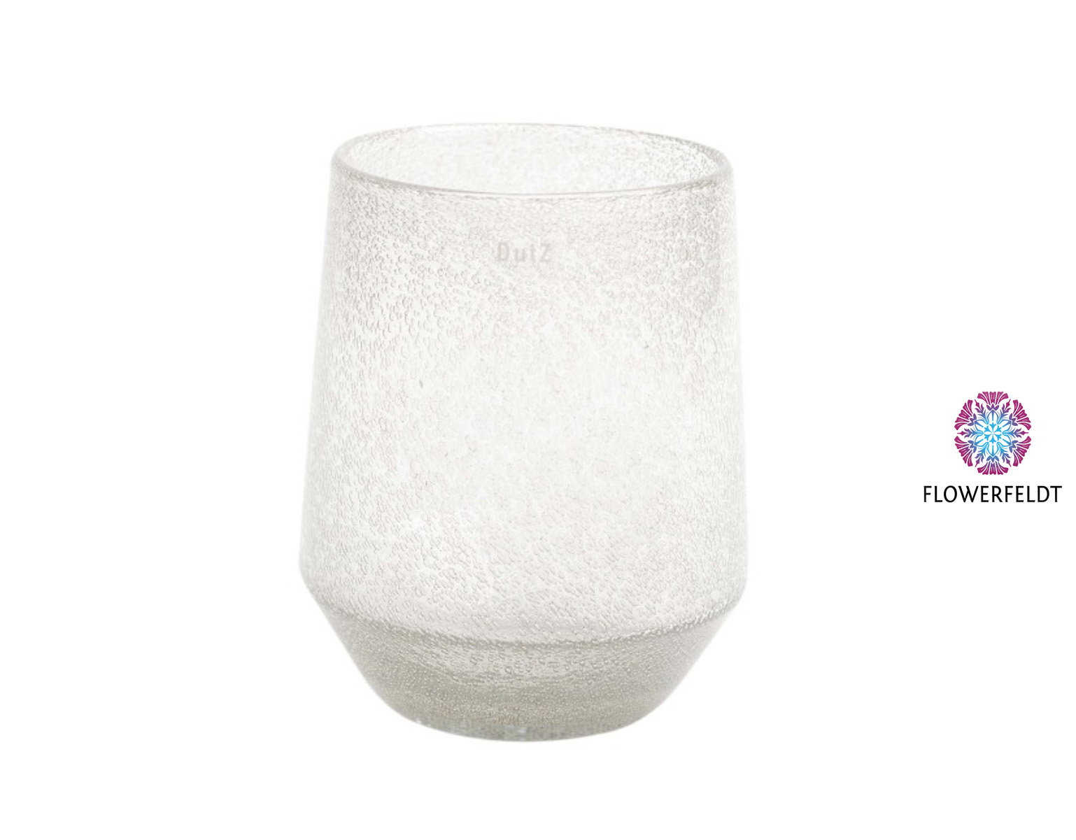 DutZ Vase Nita 1 clear bubbles - H30 cm