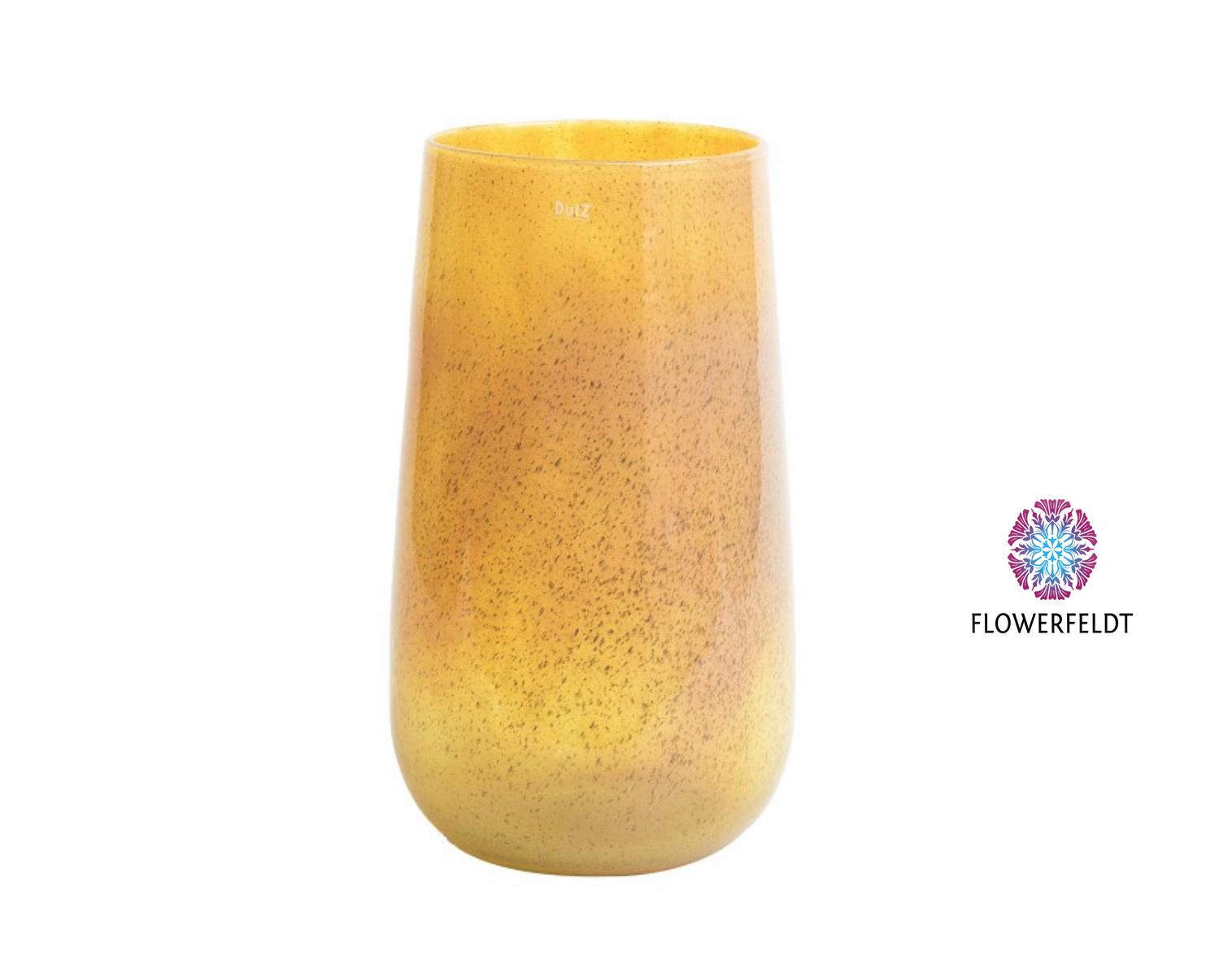 DutZ Vase Robert golden yellow - H54 cm