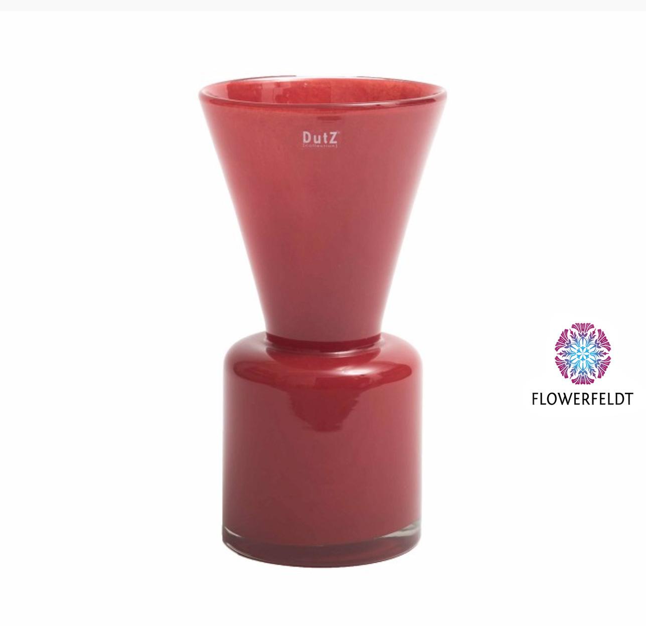 DutZ Vase louck red - H38 cm