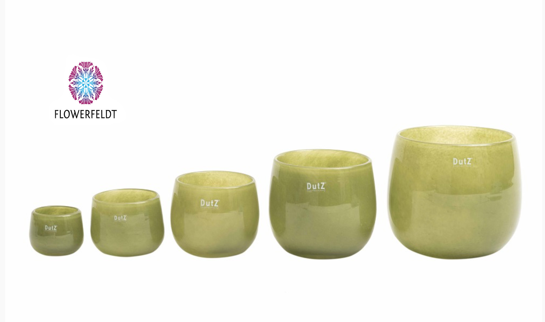 DutZ Übertöpfe Moss - H6 / H7 /H11 / H14 /H18 cm