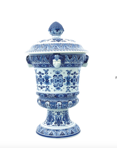 Delfts blauw Satervazen - H67 cm